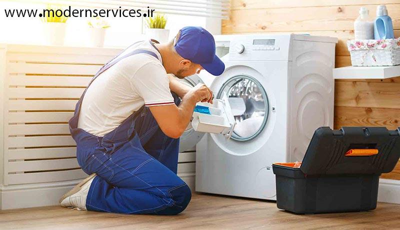 تعمیرگاه مجاز ماشین لباسشویی اسنوا در کرج