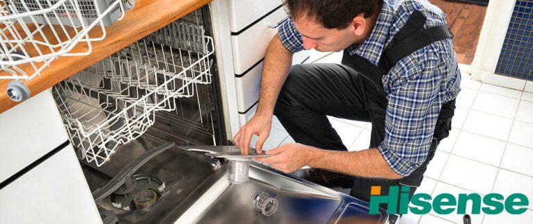 نمایندگی تعمیرات ماشین ظرفشویی هایسنس