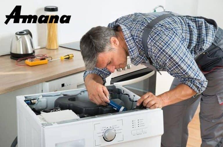 نمایندگی تعمیرات ماشین لباسشویی آمانا