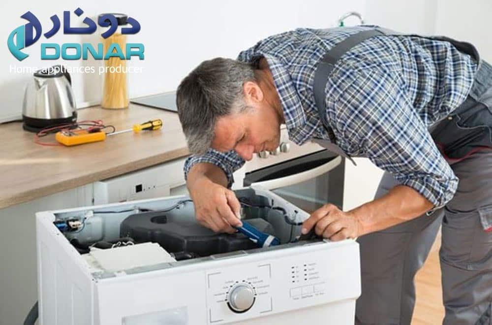 نمایندگی تعمیرات ماشین لباسشویی دونار