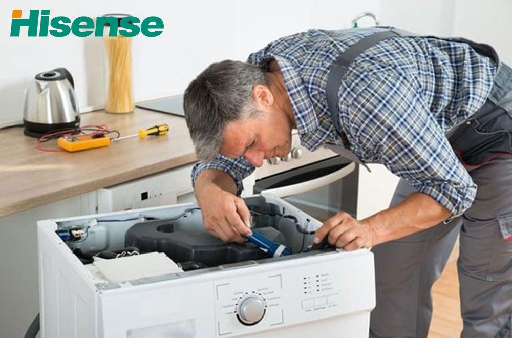 نمایندگی تعمیرات ماشین لباسشویی هایسنس